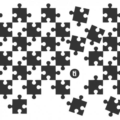 Puzzle Original Stencil
