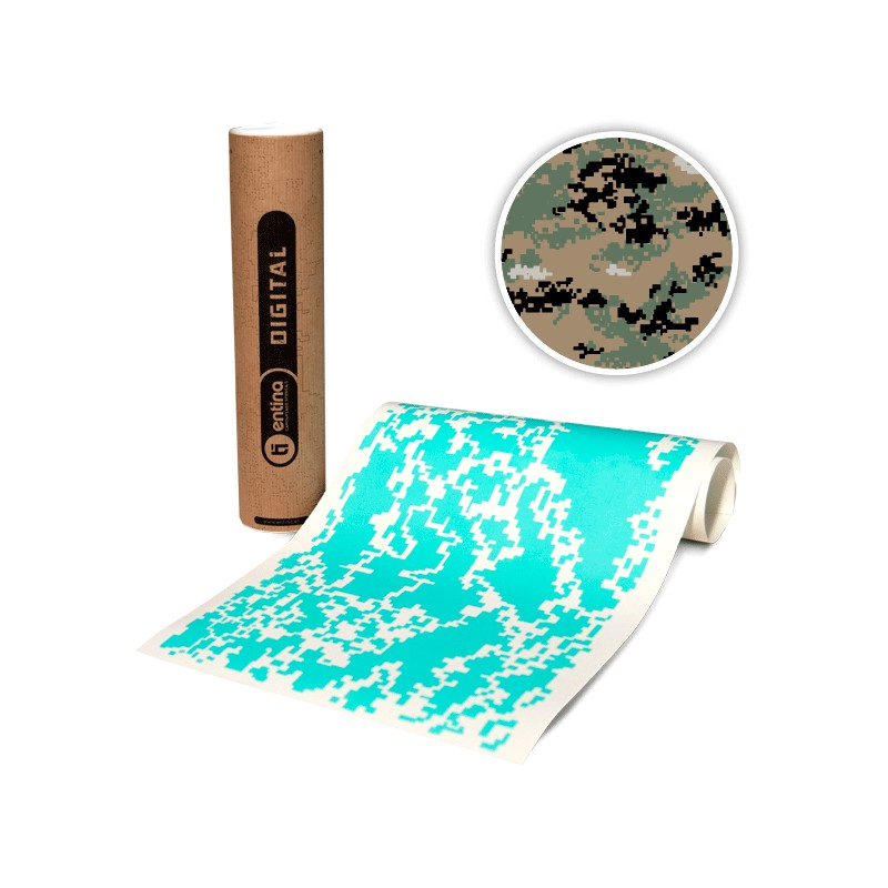 This is a photo of Bright Digital Camo Stencil Printable